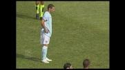 Zarate su rigore permette alla Lazio di pareggiare i conti con il Cagliari