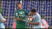 Zarate supera Mirante dal dischetto. la Lazio pareggia contro il Parma