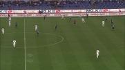 Zarate vicino al goal in Lazio-Inter, palla fuori di poco