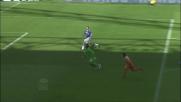 Zauri salva la Sampdoria togliendo dalla porta un goal fatto a Di Natale