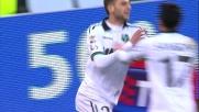 Zaza costruisce e Berardi segna: il Sassuolo vola contro il Genoa