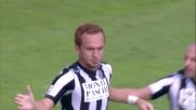 Ze Eduardo realizza il rigore del pareggio del Siena contro l'Udinese