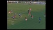 Zenga blocca la conclusione dalla distanza di Rijkaard