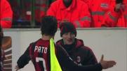 Il goal di Pato decide la sfida di San Siro fra Milan e Fiorentina