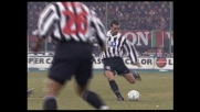 Zidane pericoloso da fuori area contro il Milan, Rossi respinge
