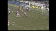Zidane sfiora il goal di testa contro il Milan, ma la palla finisce sull'esterno della rete