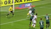 Ziegler si fa sorprendere dal cross e atterra Basta in area: rigore per l'Udinese