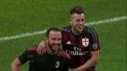 Pazzini trasforma il calcio di rigore in Milan-Torino