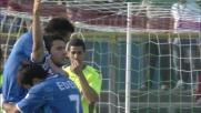 Zoboli di testa trasforma in goal il corner per il Brescia