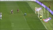 Berisha salva la Lazio respingendo il tiro di Kucka