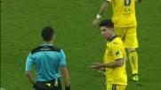 Zukanovic fallo in tackle su Badu ed espulsione al Friuli