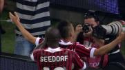 Il Milan pareggia a San Siro con il goal di El Shaarawy