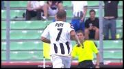 Il tiro di Pepe sorprende Andujar, ma la traversa lo ferma sul più bello