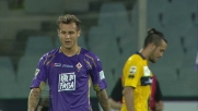 Diamanti accarezza la traversa in Fiorentina-Parma