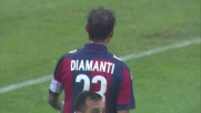 Diamanti dribbla in area la difesa del Verona
