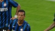 Guarin decide il derby di Milano con un goal dal limite dell'area