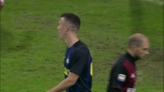 Inter vicina al goal nel derby con Perisic