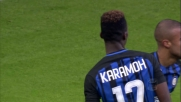 Karamoh di sinistro regala la vittoria all'Inter