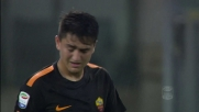 Under calcia sulla traversa, Roma vicina al goal