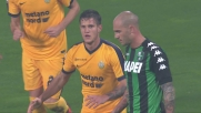 Zuculini in mischia, goal dell'Hellas Verona